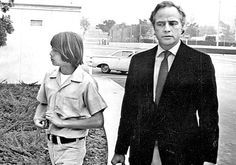 Christian and Marlon Brando #Brando