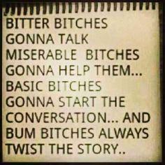 ... bum bitch and the thirsty tribe @maryjanett hahahahahaha