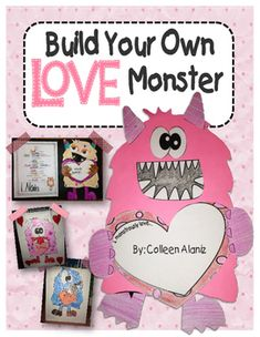 "Love Monster Activity Kit ~ Goes along with the book ""Love Monster ..."