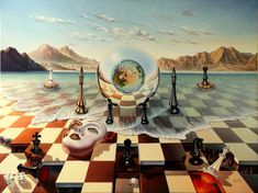 The fools rule the world new d4rjpiz - Surreal Paintings by Lohmuller Gyuri  <3 <3