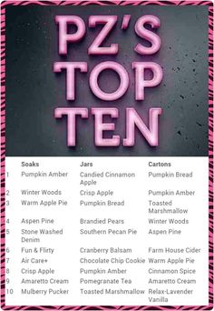Top 10 favorites from Pink Zebra!