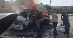 El robo de un carro policial en Miami termina con un hombre muerto