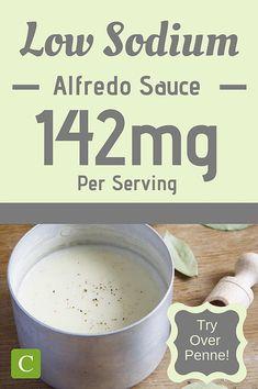 Low Sodium Alfredo Sauce | Cukebook