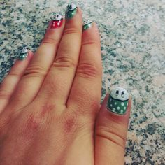 Super Mario Inspired Nails