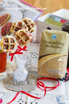 dailydelicious: Waffle Pops: Mini size treats