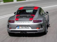 Porsche 911 R Worldwide (991) '2016 grey and red stripes