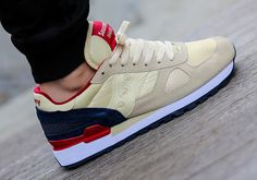 Saucony Shadow Original-Cream-Navy-Red-2