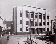 Edificio Palacio de Gobernacion, Esquina de Principal frente a la Plaza Bolivar de Caracas, 1935