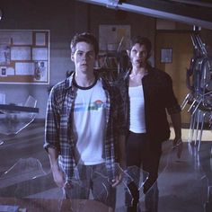 "Teen wolf. Season 3 episode 9 ""The girl who knew too much"" stiles and Scott wonder where officer stillinski is."