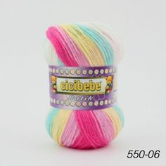 Acrylic yarn Crazy Colour, Color, Pretty Baby, Yarns, Crochet Projects, Headbands, Knit Crochet, Accessories, Hand Knitting