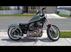 2002 Harley Sportster XL 1200 Custom Bobber Motorcycle