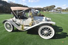 1911 Penn Model 30 2-Passenger Roadster at Amelia Island Concours d'Elegance 2010, via Flickr. - Penn automobiles were made by the Penn Motor Car Company in Pittsburgh, Pennsylvania from 1910-1913. The model 30 here is a 4 cyl., 30hp car that sold for 975. Penn went into bankruptcy in 1913 when backers withdrew from a new factory after it was constructed in New Castle, Pennsylvania.