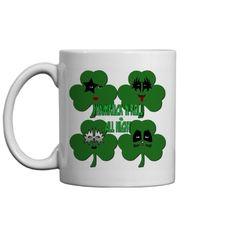 Shamrock & Roll All Night Mug Beer Mugs, Coffee Mugs, Colorful Backgrounds, I Shop, Online Shopping, Coasters, Rolls, Canning, Night