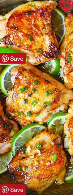 DIY Honey Lime Chicken Thighs - Ingredients Gluten free Meat 7 Chicken thighs Produce 1 Green onions 1 Lime Condiments 2 tbsp Honey 4 tbsp Lime juice freshly squeezed 1 tbsp Soy sauce Baking & Spices tsp Salt Oils & Vinegars 2 tbsp Olive oil #delicious #diy #Easy #food #love #recipe #recipes #tutorial #yummy @ICookUEat - Make sure to follow @ICookUEat cause we post alot of food recipes and DIY we post Food and drinks gifts animals and pets and sometimes art and of course Diy a...