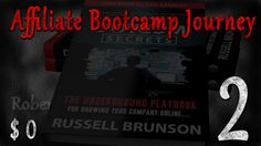 (E2) My #Affiliate Bootcamp #Journey from $0 to ? 1 Week Done. Results $0 https://www.youtube.com/watch?v=b4_n2OXK8tk
