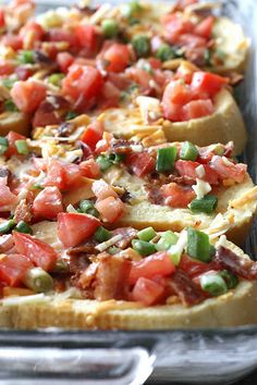 Savory French Toast Bites with Bacon, Tomato & Cheese | cookincanuck.com #recipe