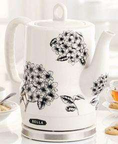 Bella 13622 1.2L Ceramic Electric Kettle - Coffee, Tea & Espresso - Kitchen - Macy's Sale $49.99    Reg. $79.99
