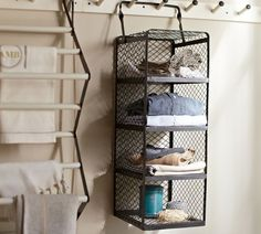 crate style hanging shelf