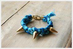 DIY Spike Bracelet DIY Jewelry DIY Bracelets