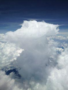 Rainshower over the Amazone