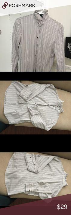 Ralph Lauren LRL women   long sleeve batten shirt. Ralph Lauren LRL great condition shit. Ralph Lauren RRL Tops Button Down Shirts