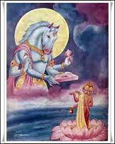 Las Revelaciones del Tarot: Háyagriva o JaiaGriva - Dioses Mitologia Hindu