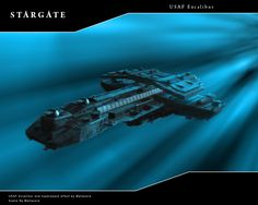 Excalibur in Hyperspace take 2 by Mallacore on DeviantArt Spaceship Design, Spaceship Concept, Concept Ships, Stargate Ships, Stargate Atlantis, Old Sci Fi Movies, Sci Fi Spaceships, Star Trek, Universe