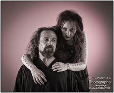 Eferia et Yves Kervarec - Photo © Jean-Louis KLEFIZE