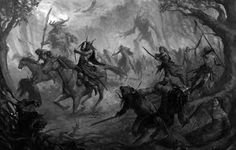 Mitos, Leyendas y otras Criaturas: CACERÍA SALVAJE
