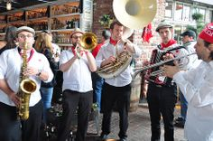 A strolling band will entertain us once again at #Duckathlon. Amplification is not needed!