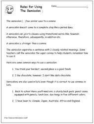 Teaching Stuff / Colon vs. Semicolon | For The Classroom ...