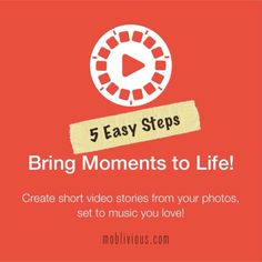 5 Easy Steps to Create Photo Slide Show with your iPhone using #Flipagram