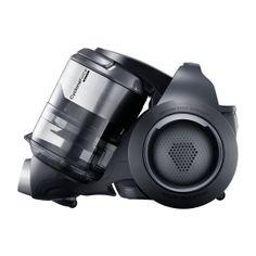 Samsung Vacuum Cleaner. Dark Grey, bushed metal.