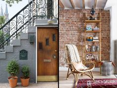 Understated Entry - Alison Jennison's Brooklyn Townhouse Makeover - Photos