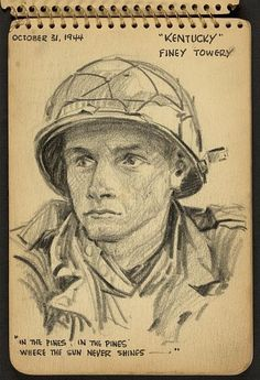 One Man's War In 36 Sketches