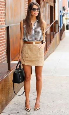 Look: Striped Shirt