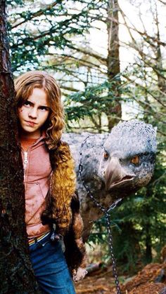 Hermione and Buckbeak