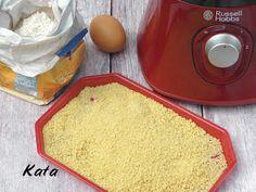 KataKonyha: Házi tarhonya (reszelt tészta)