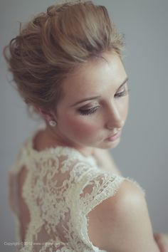 Wedding day hair and makeup by @Kymm Mclean