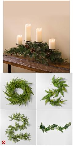 Amazing Fireplace Decoration Ideas That Will Make You Stay Home On Christmas Eve - Fireplace Decor Christmas Mantels, Rustic Christmas, Christmas Home, Christmas Holidays, Christmas Wreaths, Christmas Ornaments, Christmas 2019, Christmas Centerpieces, Xmas Decorations