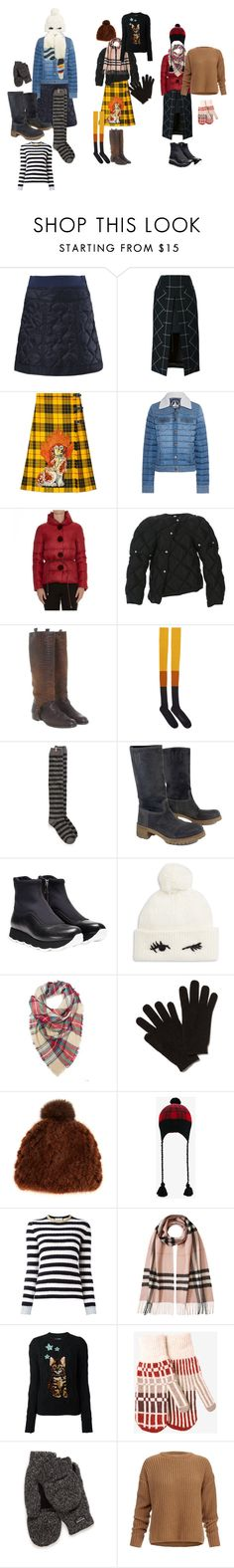 """""""How to wear down jacket 2"""" by helen-alexandrov on Polyvore featuring мода, Diesel, Sacai, Gucci, JOTT, Ermanno Scervino, Acne Studios, Henry Beguelin, STELLA McCARTNEY и Hunter"""