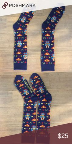 TM & DC COMICS Superman winter knee high socks Thick & Warm Superman Socks Brand new with no tags TM & DC COMICS Underwear & Socks Casual Socks