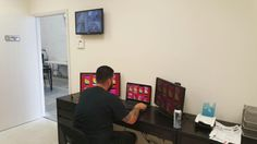 Our business and commercial security team finishing securing a new business in Miami