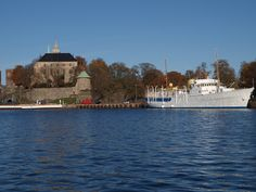 The Royal Yacht, Norge, beside Akershus Festning. Different Countries, Oslo, Ruler, Norway, Taj Mahal, Royalty, Country, Building, Travel