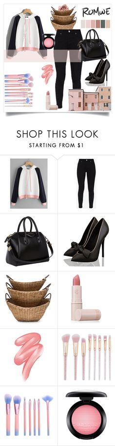 """""""Bez naslova #111"""" by eporti ❤ liked on Polyvore featuring Ted Baker, Givenchy, Lipstick Queen, Clinique and MAC Cosmetics"""