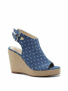 Open-toe Wedge Sandal