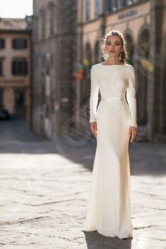 Long Sleeve Wedding, Long Wedding Dresses, Elegant Wedding Dress, Elegant Dresses, Bridal Dresses, Wedding Hijab, Dress Wedding, Marigold Wedding, Temple Dress
