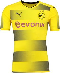 5048acd10b2 Borussia Dortmund 2017-18 Home Kit Football Kits