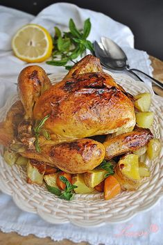 Lussi`s World of Artcraft: Ароматно цяло печено пиле с бира / The Perfect Whole Roasted Chicken with Bееr
