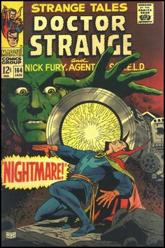 Strange Tales #164, January 1968. Cover art by Dan Adkins.